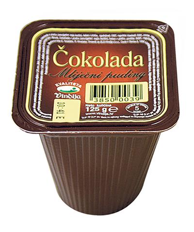 Puding čokolada 125g