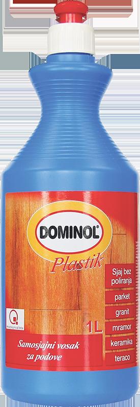 Dominol plastik vosak za podove 1l
