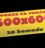 Vreće za smeće 500×600 20/1