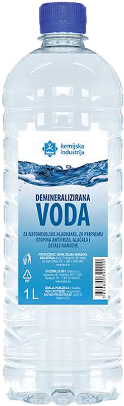 Demineralizirana voda Iskra 1l