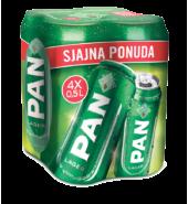 Pan pivo 4pack (4*0,5l)
