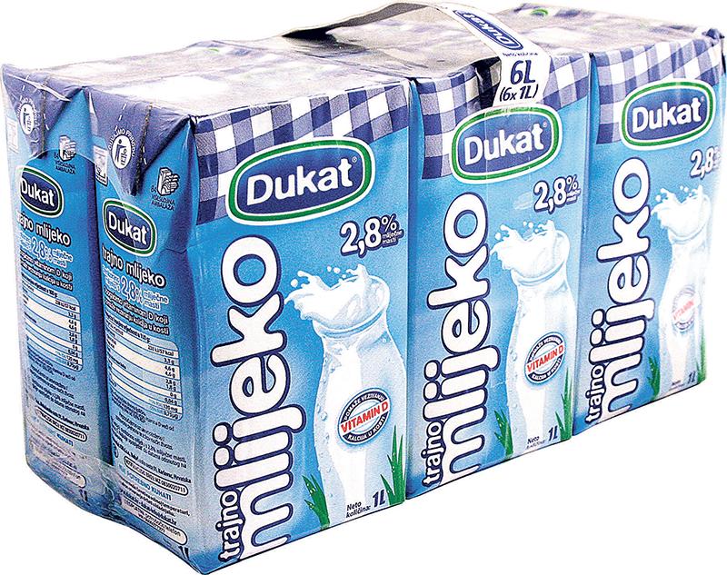 Trajno mlijeko 6x1l