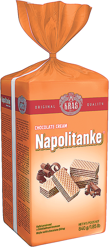 Napolitanke Choco Cream 840g