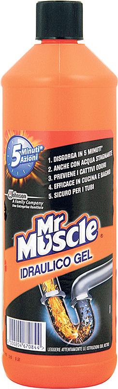 Mr.muscle vodoinstalater gel 1l