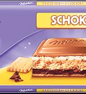 Čokolada Milka Schoco keks 300g