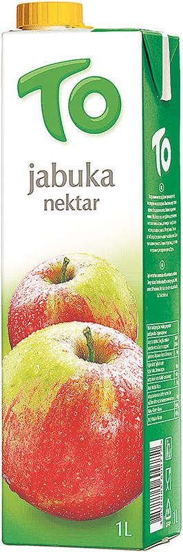 To nektar jabuka 1l