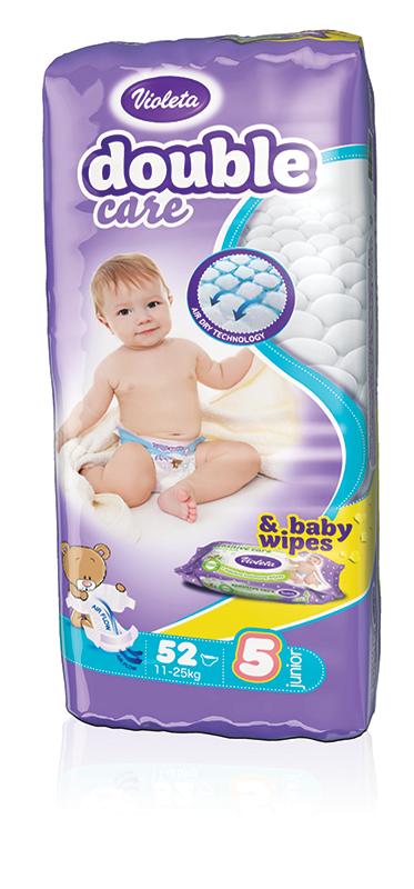 Dječje pelene Violeta Air dry
