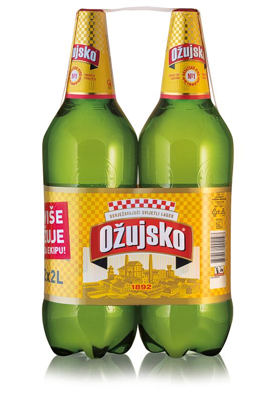 Pivo Ožujsko 2*2l