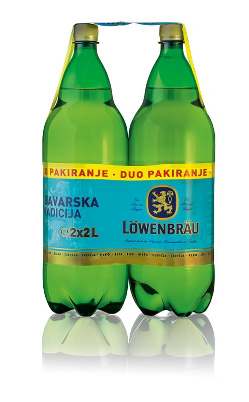 Pivo Lowenbrau 2*2l