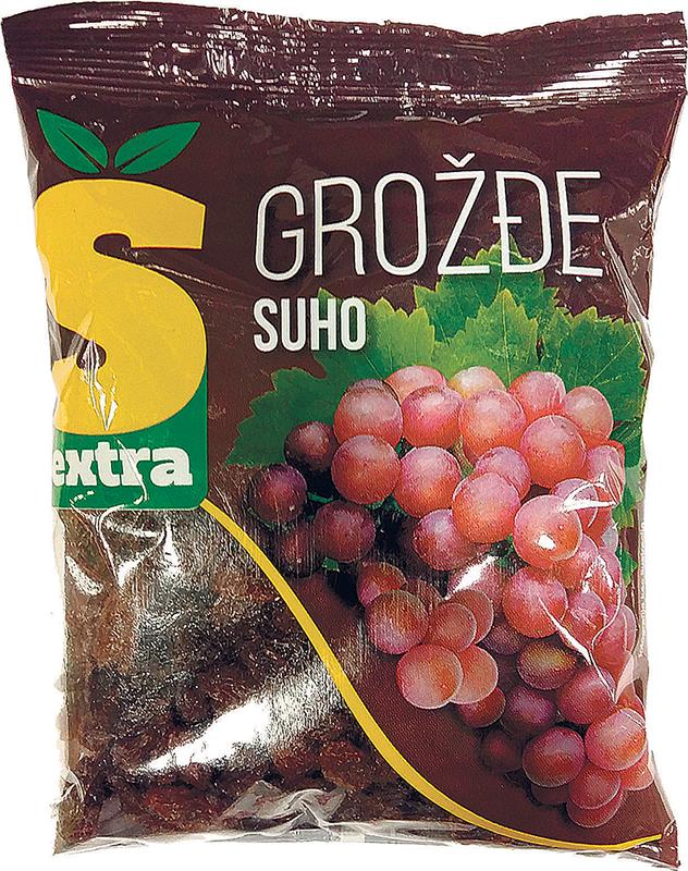 Suho grožđe Š-extra 200g