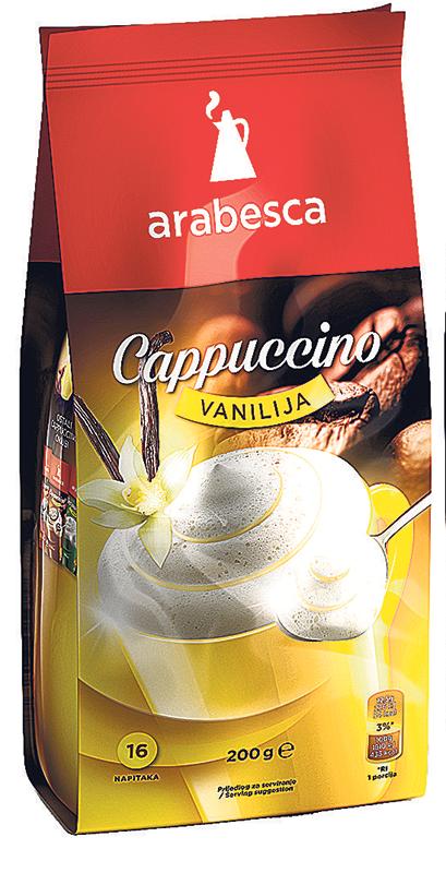 Cappucino Arabesca vanilija 200g