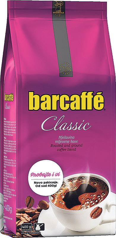 Kava mljevena Barcaffe 400g