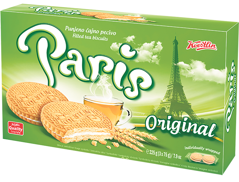 Keksi paris orginal 225g