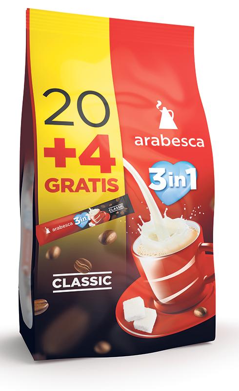 Instant kava Arabesca 3u1 20+4 432g
