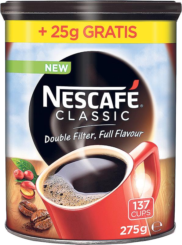 Nescafe classic 250g + 25g