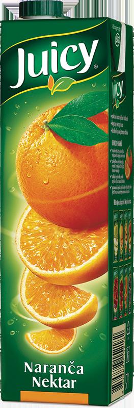 Juicy nektar naranča 1l