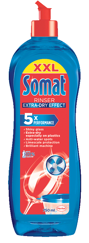 Tekućina-sjajilo za perilice posuđa Somat 750ml