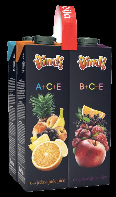 Voćni nektar Vindi 4x1l