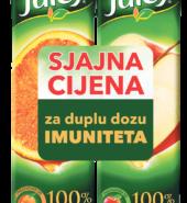 Juicy 100% 2x1l